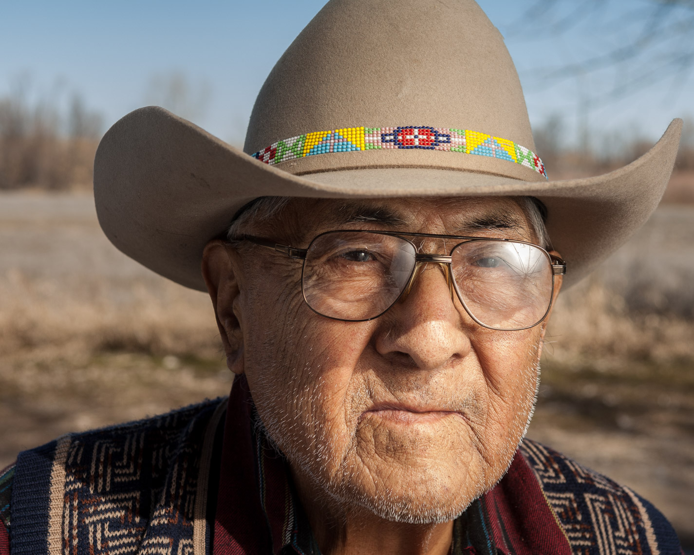 Montana Photojournalist Portrait Photograph Joe Medicine Crow01